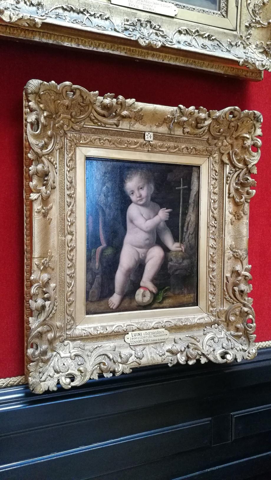 ภาพเขียน Baby Jesus โดย Berdanino ในห้อง Tribune