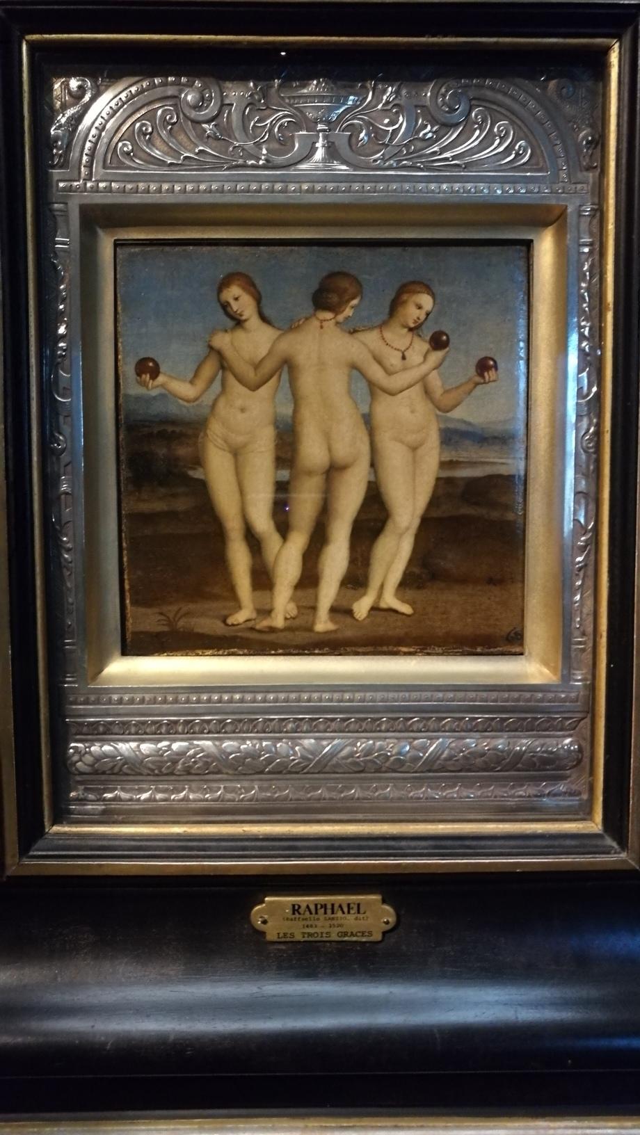 Three Graces โดย Raphael