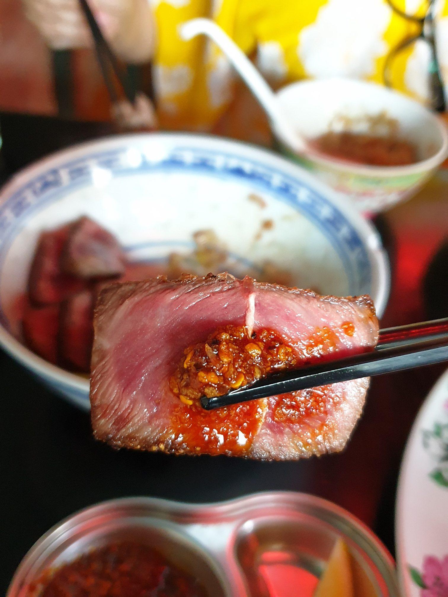 พริกเผายี่สับหลกรสชาติดีมากมีเนื้อสัมผัสกรุบกรอบ จิ้มกับอะไรก็อร่อย