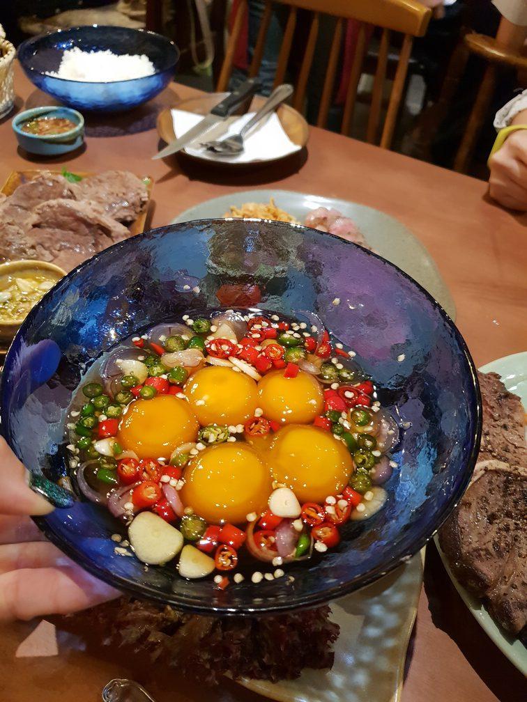 ไข่ดองน้ำปลา