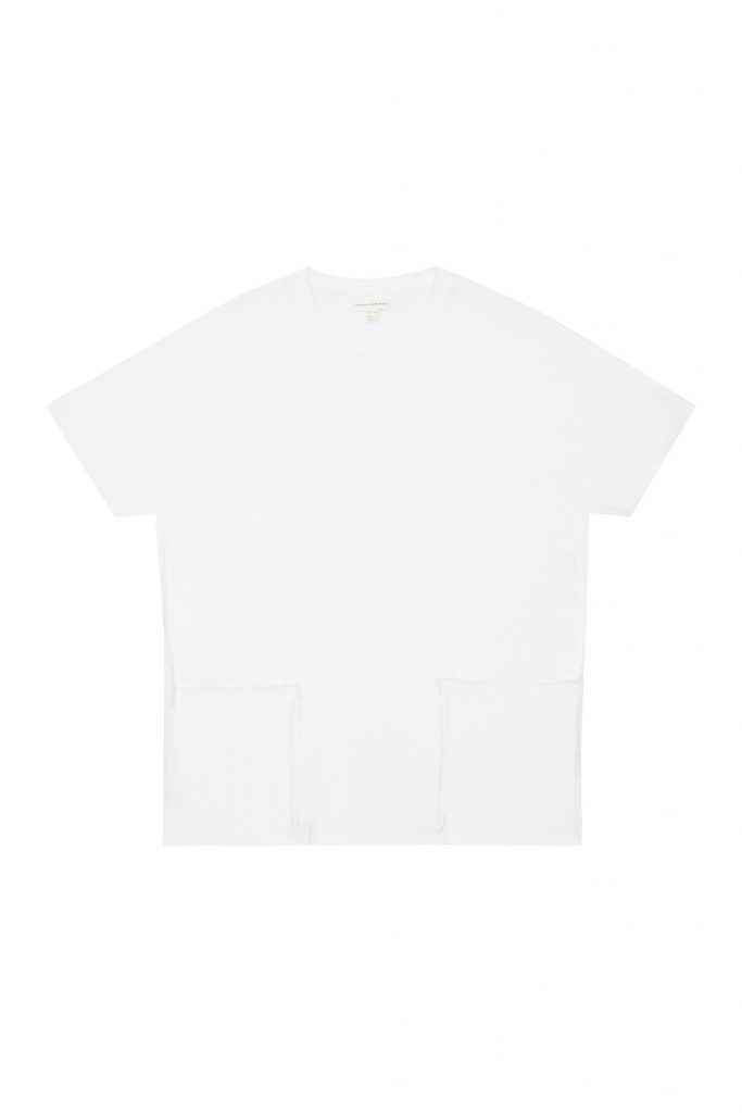 COS TWIN-POCKET ORGANIC-COTTON T-SHIRT €35